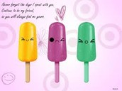 Popsicle love