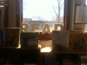 Our beautiful classroom library is a reflection of us!