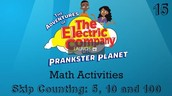 Skip Counting 5, 10, and 100 | The Electric Company Math Activities