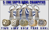5X Super Bowl Champs