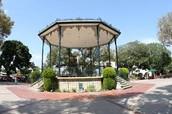 Sun-beaten Plaza
