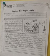 Writing - One-Pagers