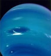 The Great Dark Spot on Neptune.