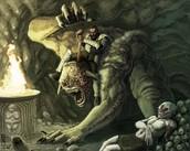 Beowulf vs. Grendel's Mother