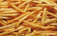 no debes comer las papas fritas.