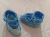 Zapatitos de bebé niño o niña
