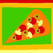 mushroom pepparoni and olives