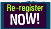 CURRENT STUDENTS:  Re-register NOW for 2016-2017 !