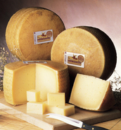 Manchego Cheese, a food commonly sold in La Mancha