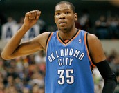 3.) Kevin Durant