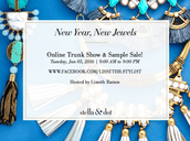 Stella & Dot ONLINE TRUNK SHOW & SAMPLE SALE!