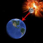 Doomsday Scenario: Moon crashing into Earth