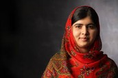 18 Year Old Malala Yousafzai: Shot by the Taliban Defending Her Rights