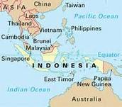 indonesia geogaphy