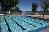 Keeping water in the pools help save water