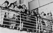 European Jewish refugees stranded on S.S. Quanza