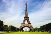 The Eiffel Tower draws thousands of tourists each year