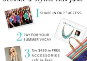 EXTRA $100 IN JEWELRY FOR SIGNING UP IN JUNE!