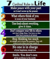 There are the 7 Habits and the 7 Rules