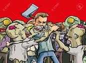 attaking zombies bad idea