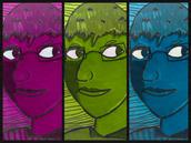 30. Monochromatic Triptyphs