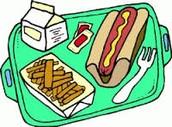 Last Week of School Lunch Menu