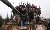 The Syrian Rebels Take a Tank