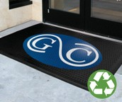 Logo Custom Durable Floor Mats in the Workplace