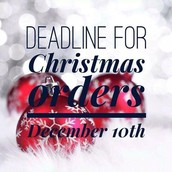 Christmas Delivery Deadline - December 10th
