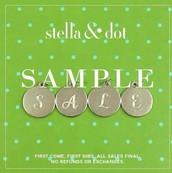 Sample Sale!