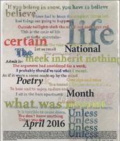 Free Poetry Poster