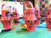 First Grade Chinese Lanterns