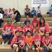 Kinder and 1st Grade Math Pentathalon Team