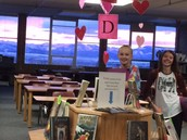 Sunrise in the Library!