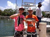 just got done fishing