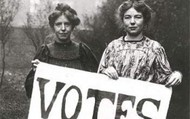 Two Women Petitioning