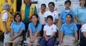 Competidores de todas las escuelas participantes.