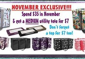 Morgan's Thirty One Online Holiday Shopping Event!