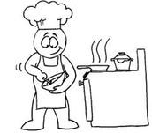 Me gusta mucho cocinar.