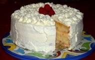 Frutas torta de mousse