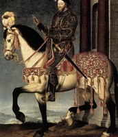 Portrait of King Francis I