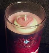 JIC Valentine Candle