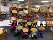Mrs. Brown's 1st grade class and their Ouch Poems