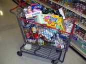 Loaded Shopping Cart