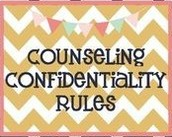 School Counseling & Confidentiality