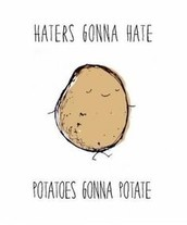 Fun Fact: On average, Poles consume over THREE-HUNDRED POUNDS of potatoes each year !