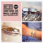 and cuff bracelets...
