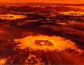 Venus's impact craters