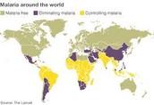malaria hotspots