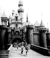 Disneyland in 1955